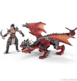 Schleich Guerrier avec dragon<br /> Schleich