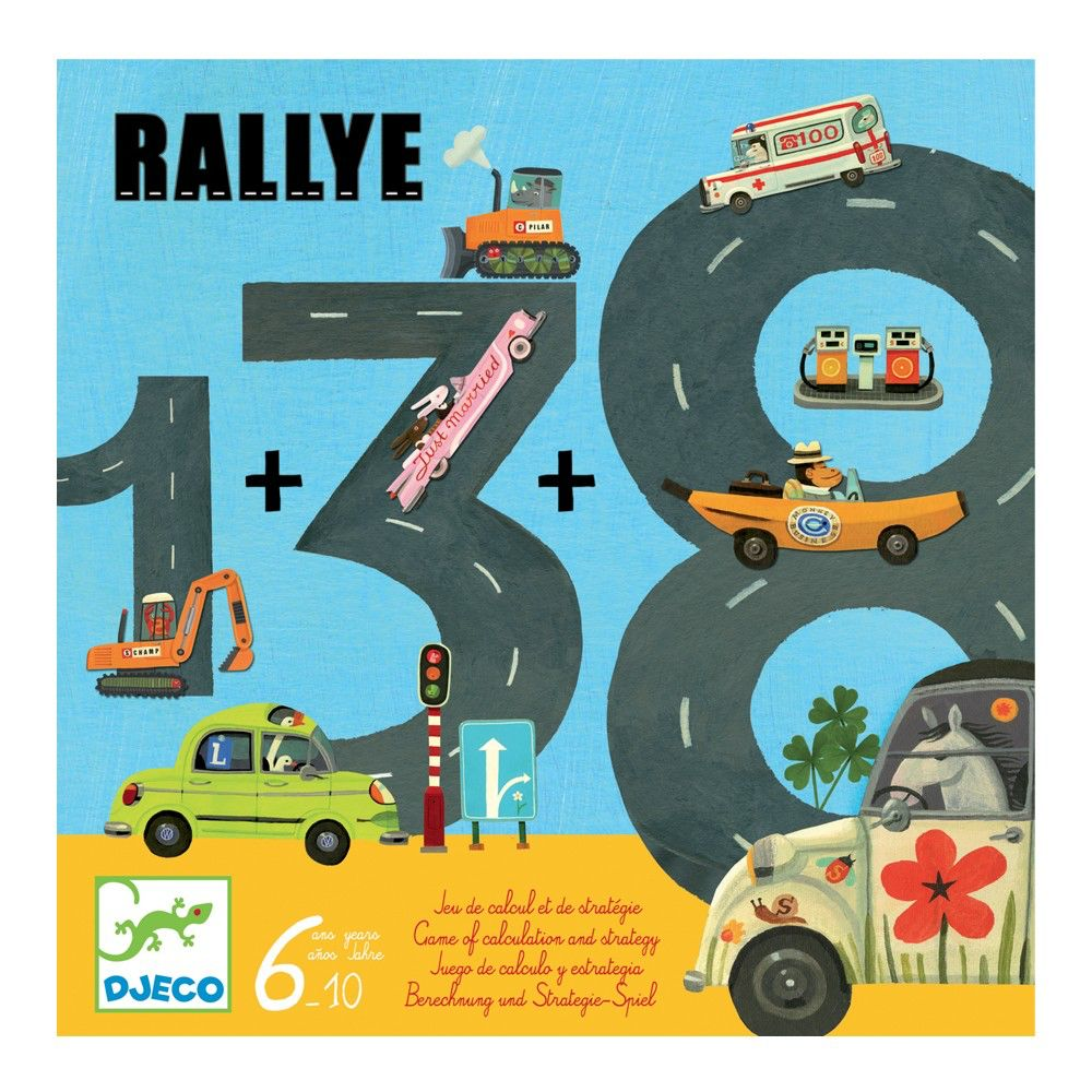 Djeco Rallye A Game Of Calculation