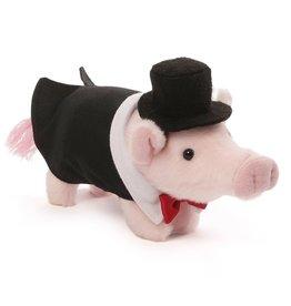 Gund Pop the pig in toxedo