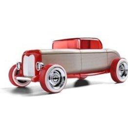 Automoblox Mini red hot rod