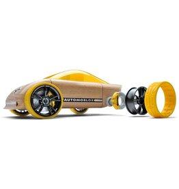 Automoblox C9 Yellow Sportscar Automoblox