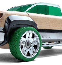 Automoblox T900 Green Pick-Up Truck Automoblox