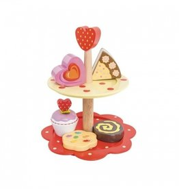 Le Toy Van Two Tier Cake Stand Le Toy Van