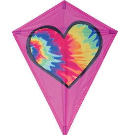 Premier Kites Tie dye Heart Kite 25''