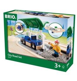 Brio City road set