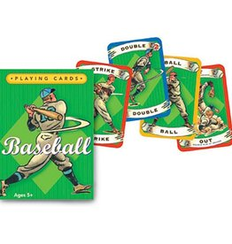 Eeboo Baseball playing cards eeBoo