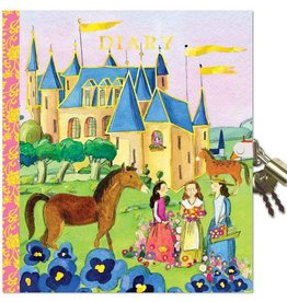 Eeboo Castle Diary with a lock eeBoo