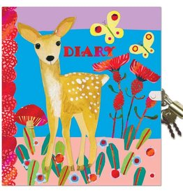 Eeboo Deer diary with lock eeBoo