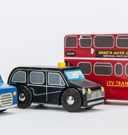 Le Toy Van Small London  Cars Set