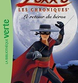Livre Zorro les retour du héros (French book Grade 1 level)