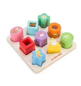 Le Toy Van Sensory Shapes and Puzzle Petilou Le ToyVan