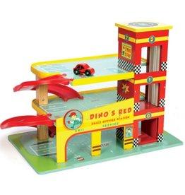 Le Toy Van Dino's Car garage with car Le Toy Van