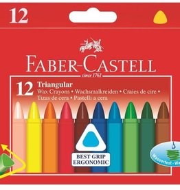 Faber-Castell Triangular wax crayons