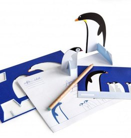 Gadgets Pop out postal card (Penguins)