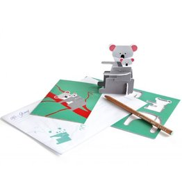 Gadgets Pop out postal card (koala)