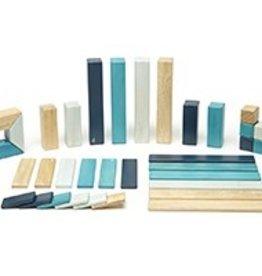 Tegu Magnetic Woden Blocks 42-PC in Blue