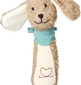 Kathe Kruse Dog Grabbing Toy