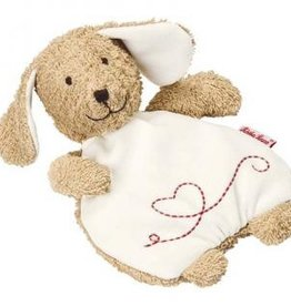 Kathe Kruse Dog Rye-and-Spelt Pillow