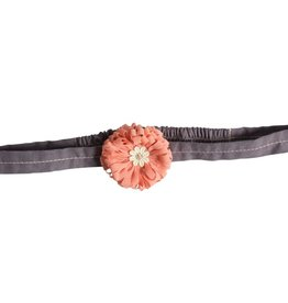 Maileg Melon colored flower hair band
