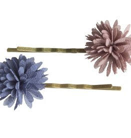 Maileg Blue and purple bobby pins