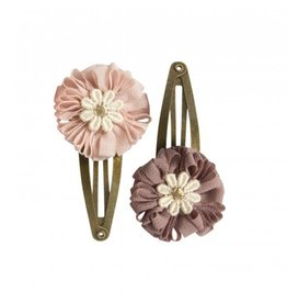 Maileg Pink or purple flower hair clip