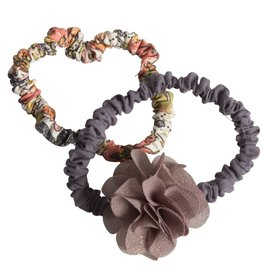 Maileg Purple flower hair elastics