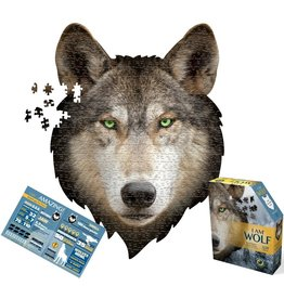 Casse-tête / Puzzle I am a Wolf Puzzle (500 pcs) with info booklet