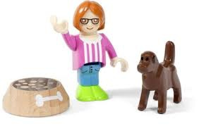 Brio Figure and Dog