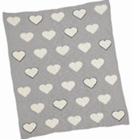 Merben Baby Blanket with Hearts Merben