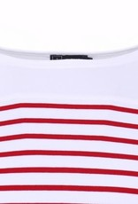 Armor Lux Long-sleeve T-shirt white and red Size 6 years