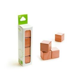 Tegu A la carte Cubes Magnetic Wooden blocks Mahogany