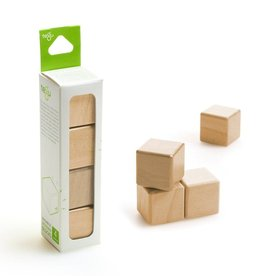 Tegu A la carte Magnetic Cubes Natural