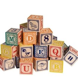 Uncle Goose Classic ABC Blocks (English)