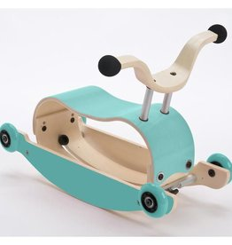 Wishbone Mini Flip Base Aqua (Add base and Wheels)