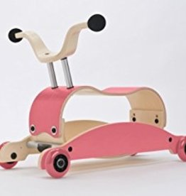 Wishbone Mini Flip Base Pink (add Top and Wheels)