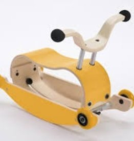 Wishbone Yellow Wheels (Add Top and Base)