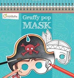 Avenue Mandarine Masks Coloring Book