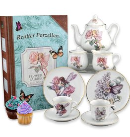 Reuter Porcelein Flower Fairies Porcelain Tea Set