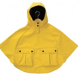 Armor Lux Yellow Rain Cape Size 10 years
