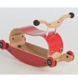 Wishbone Mini Flip Base Red (Add Top and Wheels)