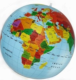 Gadgets World Map Ball