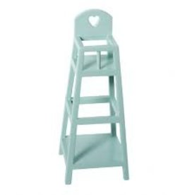 Maileg Micro High Chair Light Blue