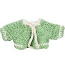 Maileg Micro green knitted cardigan