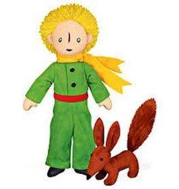 Bagnoles & bobinette The Little Prince with Fox (plush Toy)