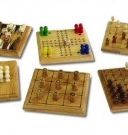 Bagnoles & bobinette Small Pocket Bamboo Games
