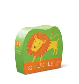 Crocodile Creek Mini Puzzle  Leo the Lion