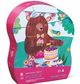 Crocodile Creek Mini Puzzle Birthday Bear