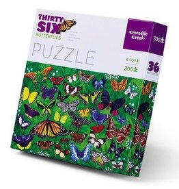 Crocodile Creek Puzzle 36 Butterflies 300 pcs