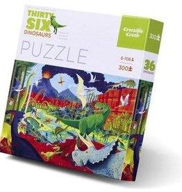 Crocodile Creek Puzzle 36 Dinosaurs 300 pcs