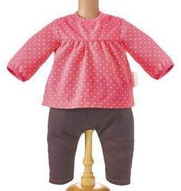 Corolle Raspberry blouse & denim